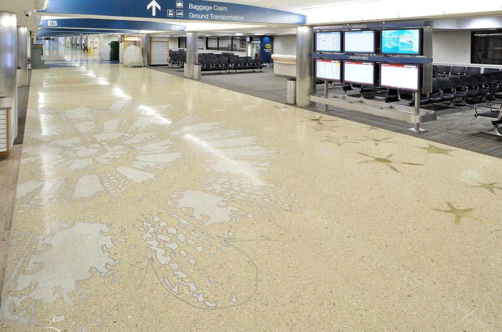Rainbow S End Ft Lauderdale Airport David Griggs Art Soup