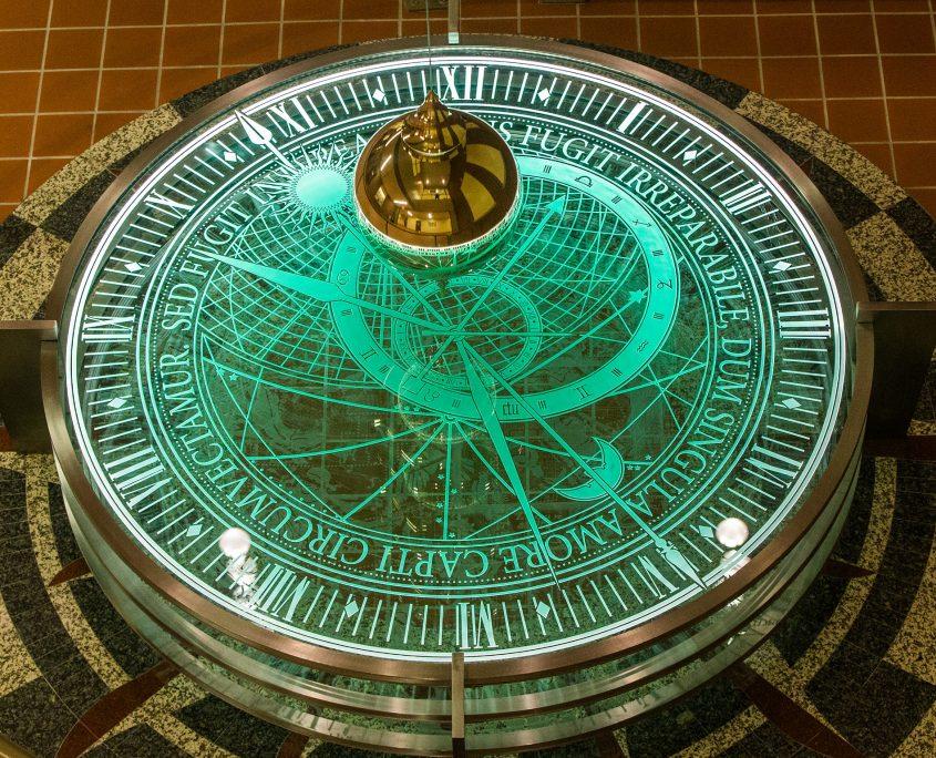 David Griggs Foucault Pendulum Miami University