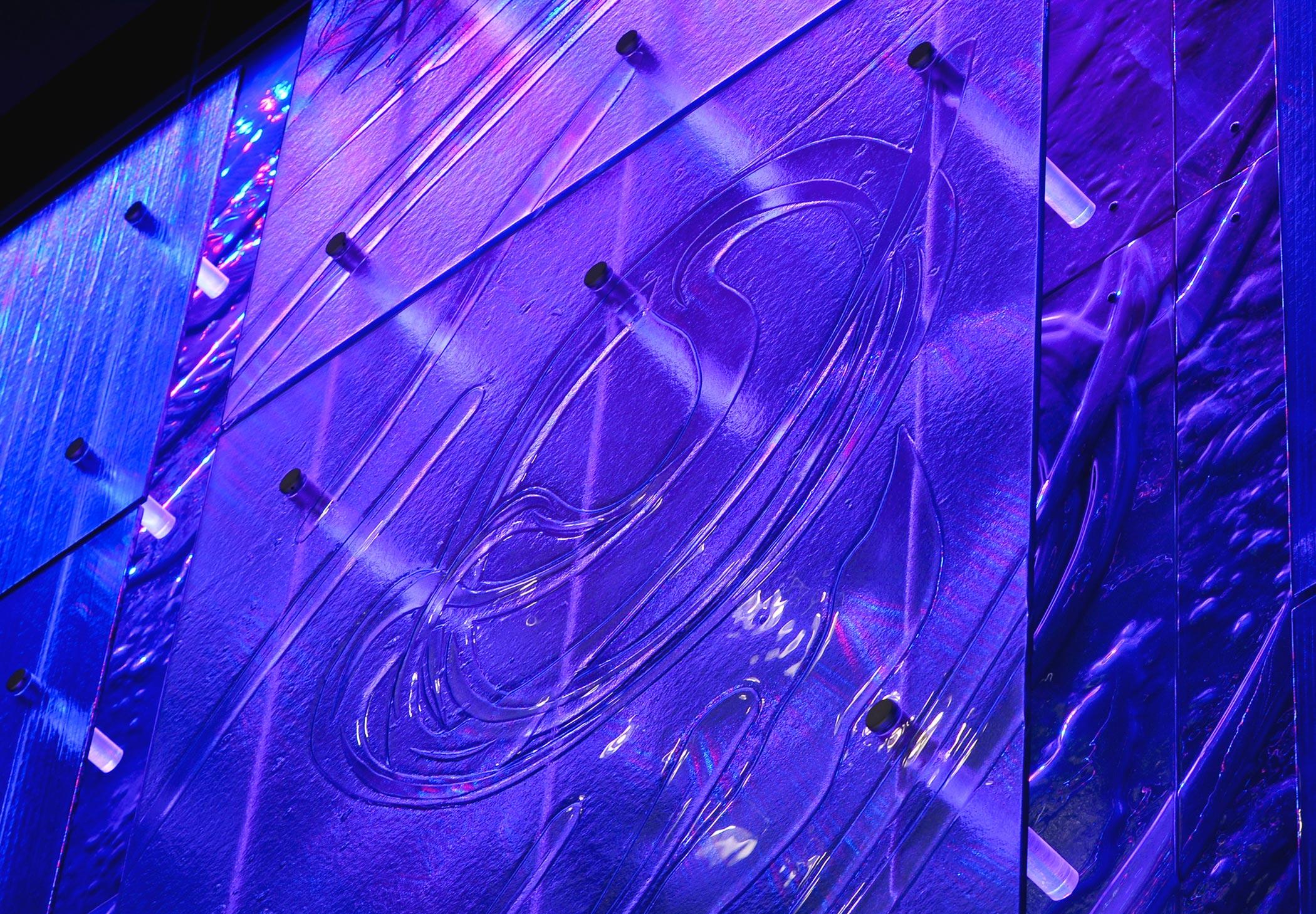 David Griggs Public Art Glass Installation Potenza